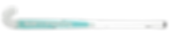 BEST FIELD HOCKEY STICK CHROME COBRA CYAN G19 back, cushion grip