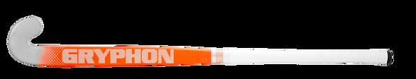 BEST FIELD HOCKEY STICK CHROME ELAN ORANGE G19 back, cushion grip