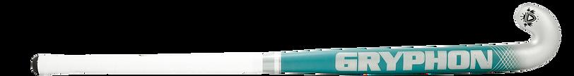 BEST FEILD HOCKEY STICK GRYPHON CHROME DIABLO TEAL G19 back, cushion grip