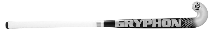 BEST FIELD HOCKEY STICK CHROME JUNIOR BLACK G19 front, cushion grip