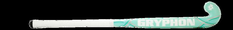 BEST FIELD HOCKEY STICK GRYPHON SLASHER TEAL G19 back, cushion grip