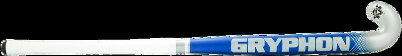 BEST FIELD HOCKEY STICK CHROME ATOMIC BLUE G19 back, cushion grip
