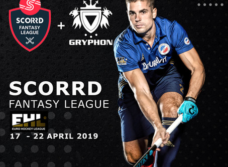 GRYPHON partner with SCORRD for the EHL Fantasy League