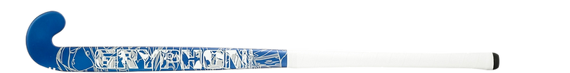BEST FIELD HOCKEY STICK GRYPHON TABOO JPC BLUE G19 front, cushion grip