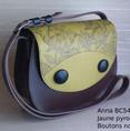Anna BC54 Gravé au pyrograveur (dessin original) - 165€ - cuir et liège
