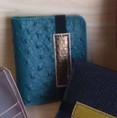 Porte-cartes Boris BC17 - 38€ - Cuir, 6 emplacements carte, fermeture élastique