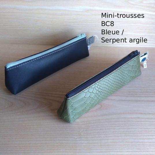Minis trousses BC8 - 28€