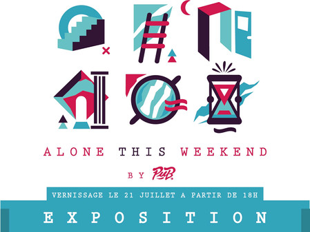 """Alone this Weekend"" par Pub/Mickaël Madrignac"