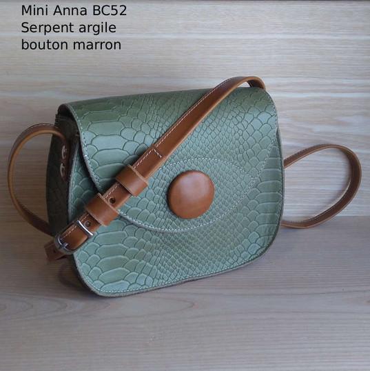 Mini Anna BC52 - 115€ - cuir et liège