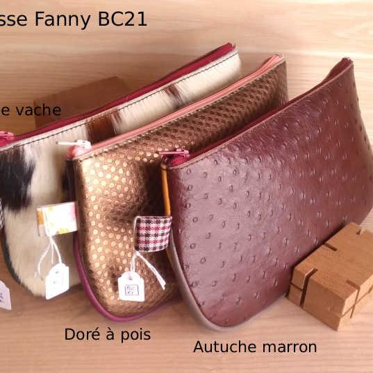 Trousse Fanny BC21 - 38€