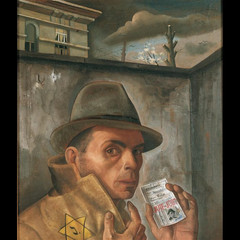 Selbstbildnis mit Judenpaβ - 1943