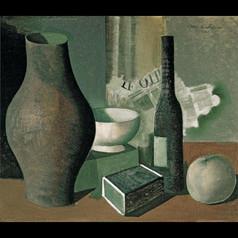 Stilleben mit Schachtein - 1941