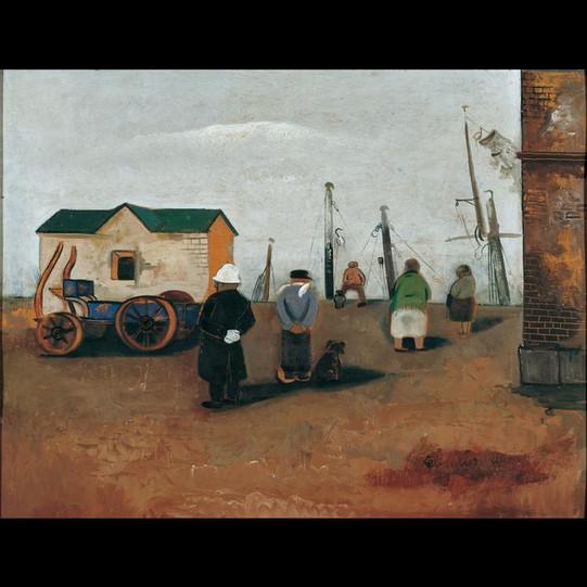 Hafenbild - 1935