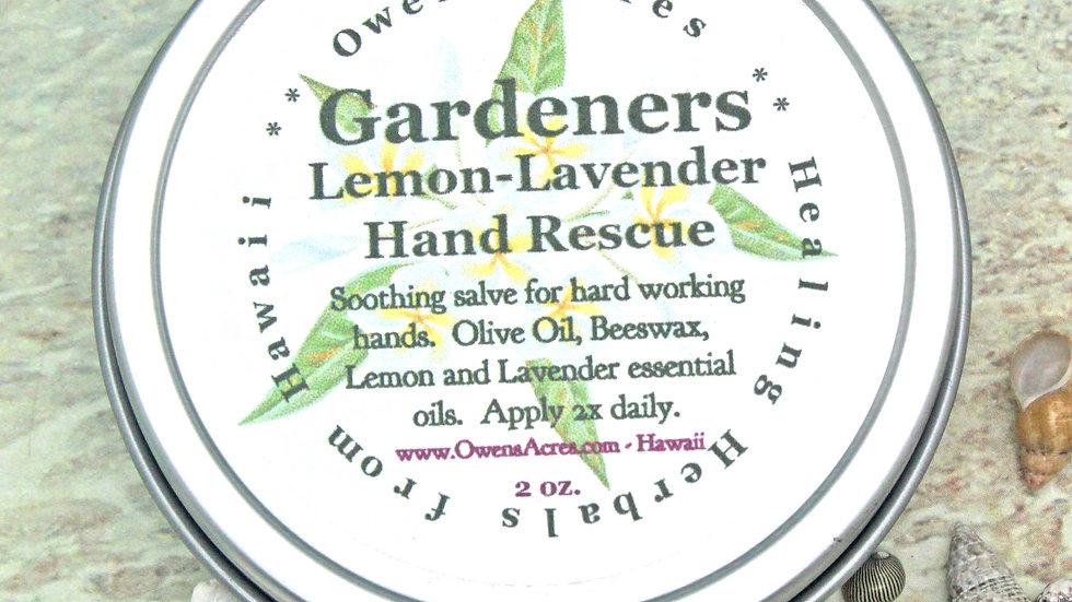 GARDENERS Lemon Lavender Hand Salve / Lavender Salve / Hand Salve