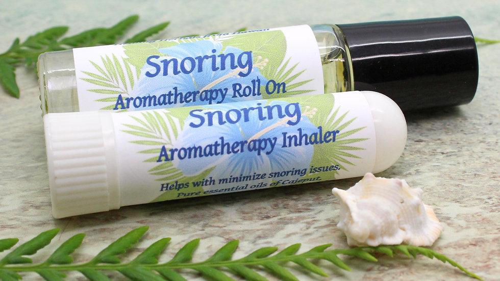 Aromatherapy Set / Snoring / Stop Snoring / Essential Oil Gift Set