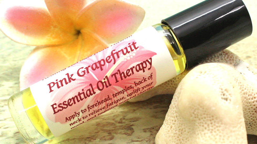 Pink Grapefruit Essential Oil Therapy Blend Roll On