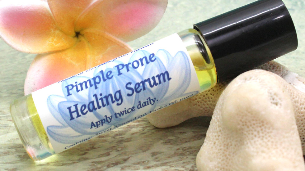 Pimple Prone Serum / Essential Oil Roll On / Aromatherapy Oil / Acne Therapy