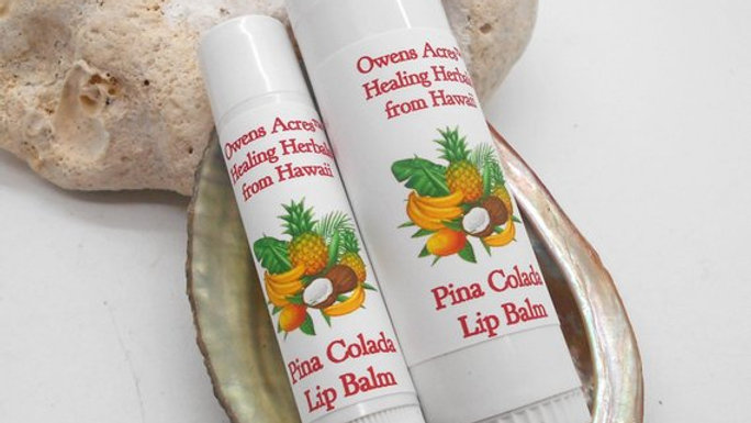 Pina Colada Lip Balms - Soothing and Moisturizing