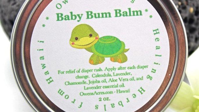 Baby Bum Balm for Diaper Rashes