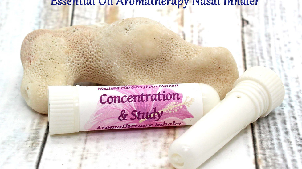 Aromatherapy Inhaler - Concentration / Study Aide