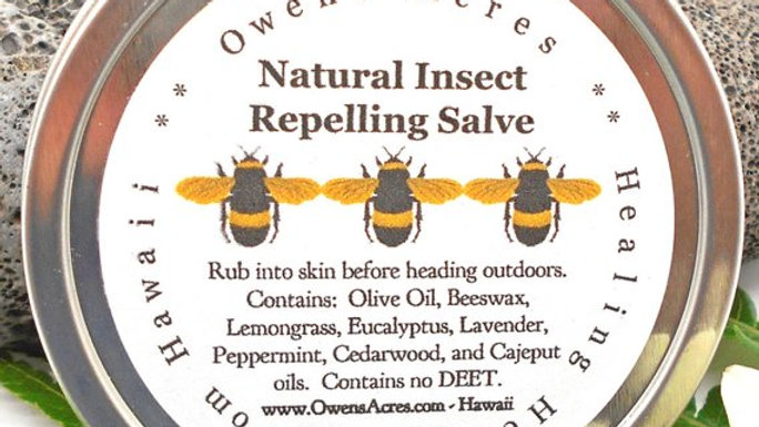 Insect Repelling Salve, All Natural Bug Salve for Camping/Hiking,or Gardening