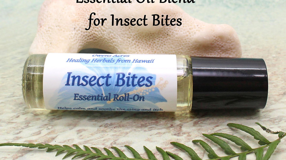 Essential Oil Roll On /INSECT BITES