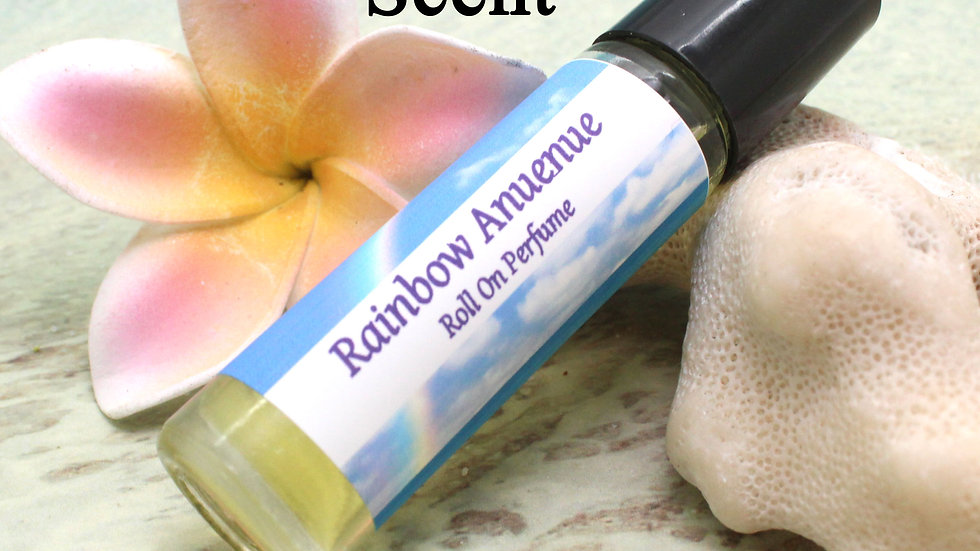 Rainbow Anuenue Roll On Perfume / Tropical Flowers / Roll On Perfume / Aromather