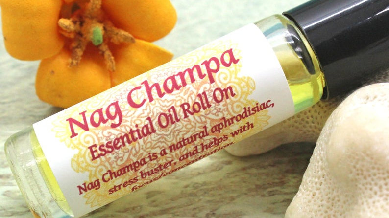 Nag Champa Roll on Perfume / Natural Stress Buster
