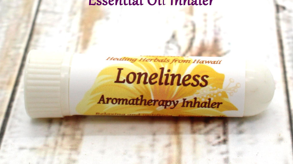 Essential Oil Nasal Inhaler - Loneliness / Sadness