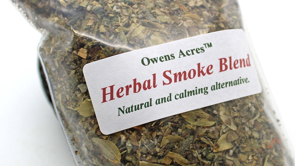 All Natural Herbal Smoke Blend