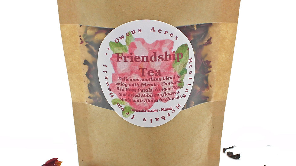 FRIENDSHIP TEA/ Tea Gift / Tea Lovers Gift / Best Friend / Loose Leaf Tea / Herb