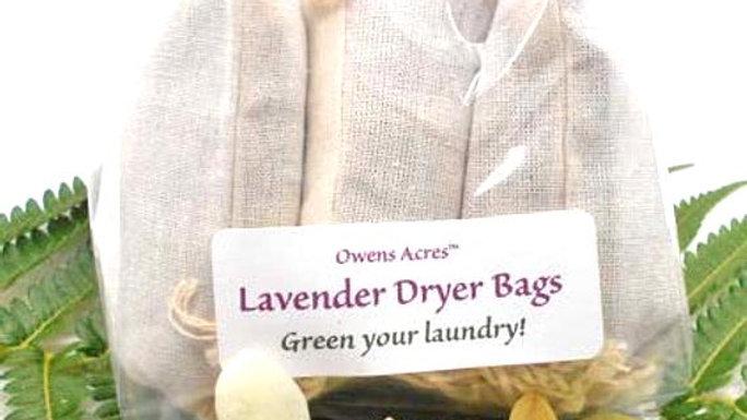 Lavender Dryer Bags - of 3