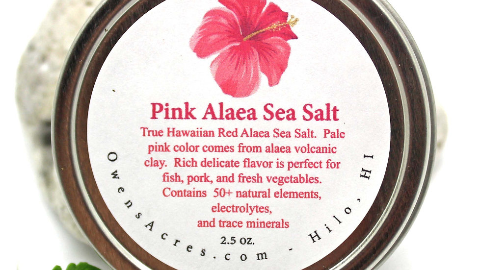 Alaea Hawaiian Pink Sea Salt