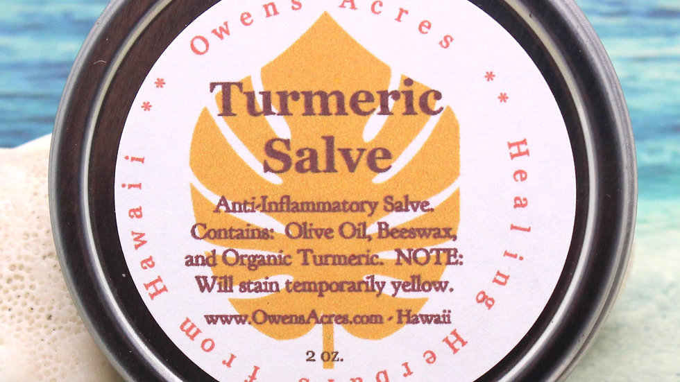 Turmeric Salve - For Hemorrhoids