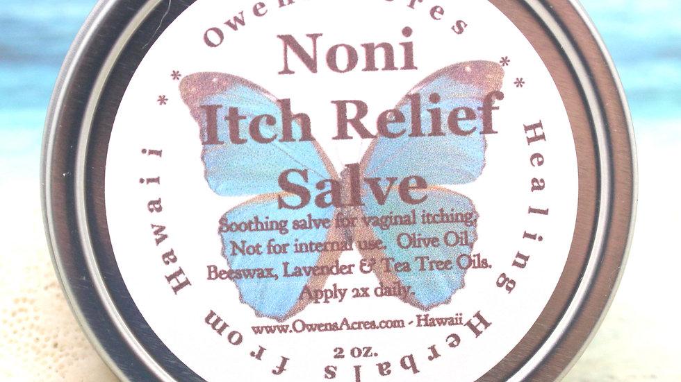 NONI ITCH Relief Salve / Vaginal Care / Lavender Salve / Feminine Salve / Intima