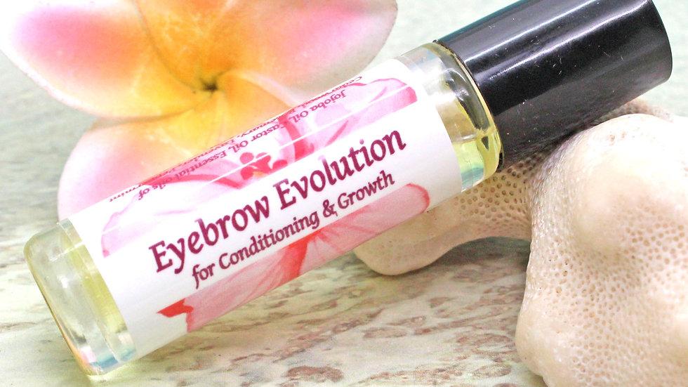 EYEBROW Oil / Eyebrow Evolution Roll On Oil / Aromatherapy Gift / Moisturizer /