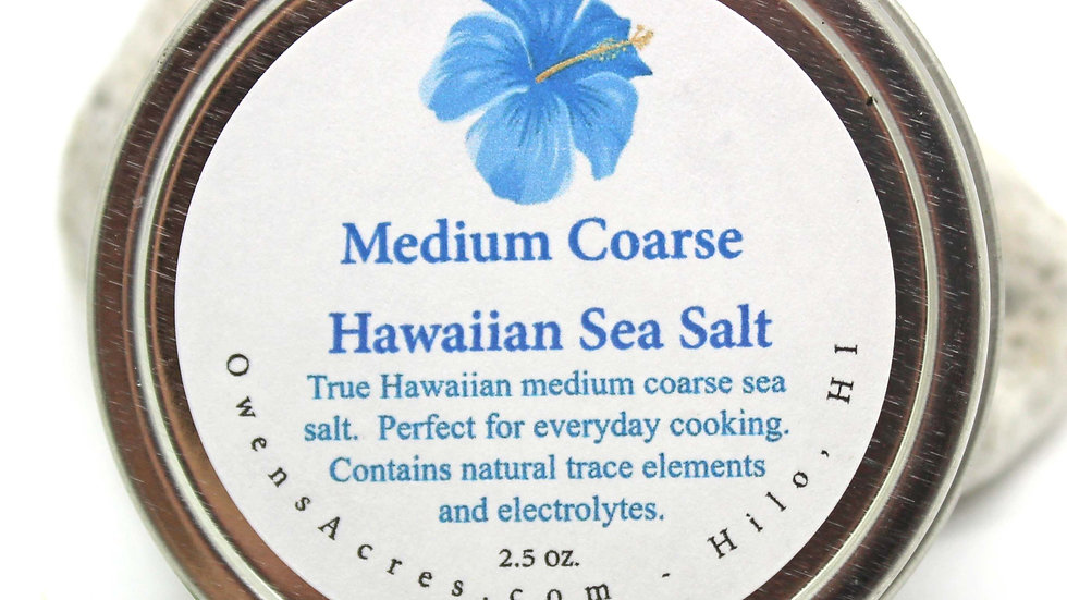 Pure Hawaiian Medium Coarse Sea Salt