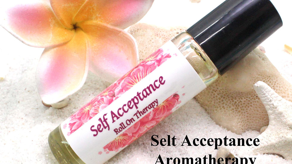 SELF ACCEPTANCE Roll On Aromatherapy / Aromatherapy Gift / Essential Oils