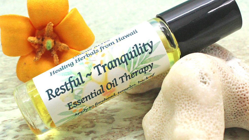 Restful - Tranquility Essential Oil Therapy Blend