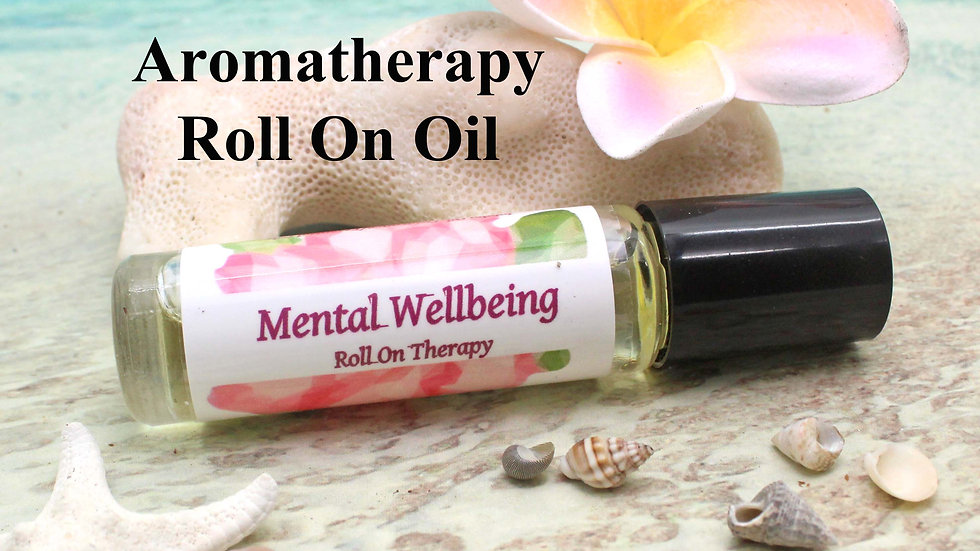 MENTAL WELLNESS Roll On Aromatherapy / Aromatherapy Gift / Essential Oils