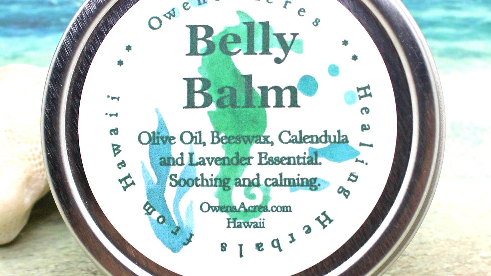 Belly Balm - Salve for stretch marks and baby bumps!
