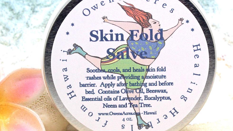 Skin Fold Salve - Soothing Salve for Skin Fold Rashes