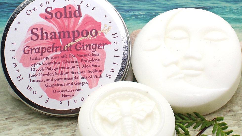 Shampoo Bar / GRAPEFRUIT GINGER / Normal Hair / Solid Shampoo