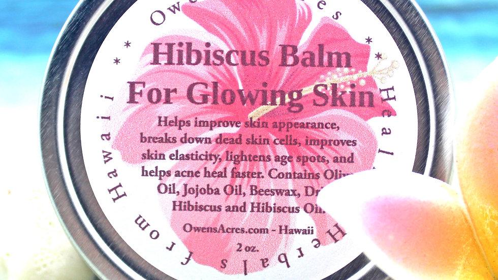 HIBISCUS Salve / Skin Cream / Face Moisturizer / Vitamin C Rich / Fine Lines / H