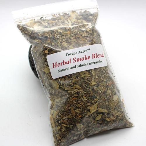 All Natural Herbal Smoke Blend   website