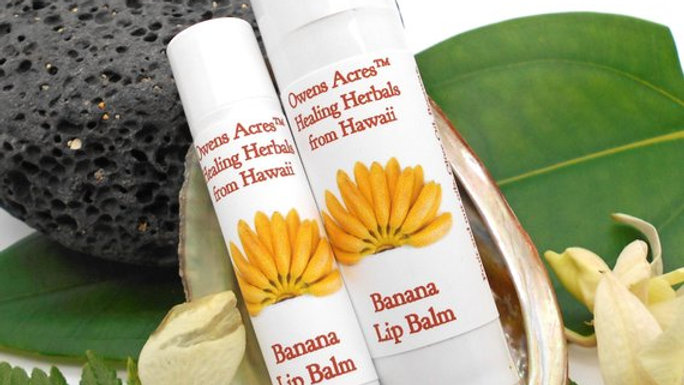 Banana Lip Balms - Soothing and Moisturizing