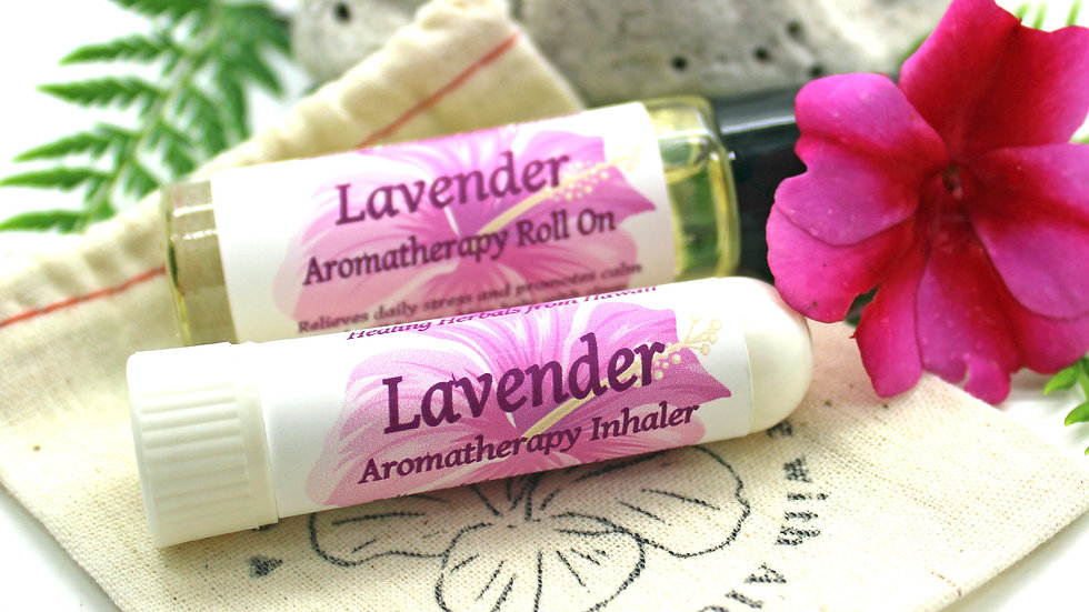 Aromatherapy Set / LAVENDER Essential Oil Gift Set