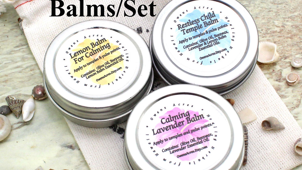 SELF CARE / Restless Child Gift Set / Aromatherapy for Children