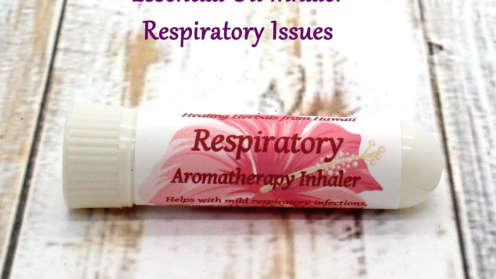 Aromatherapy Inhaler - Respiratory Infections