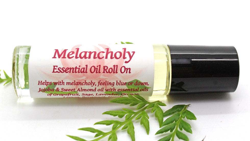 Melancholy / Drepression Essential Oil Therapy Blend Roll On